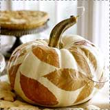 Decoupage Fall Pumpkin
