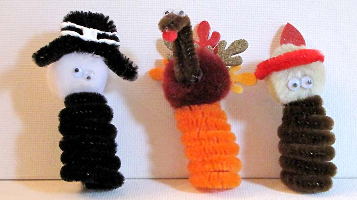 Turkey Puppet Craft For Toddlers