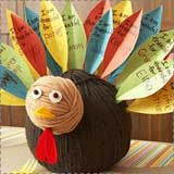 Gratitude Turkey Thanksgiving Craft