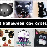 Black Cat Halloween Crafts for Kids