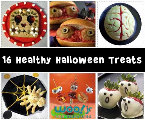 16 Healthy Halloween Treats