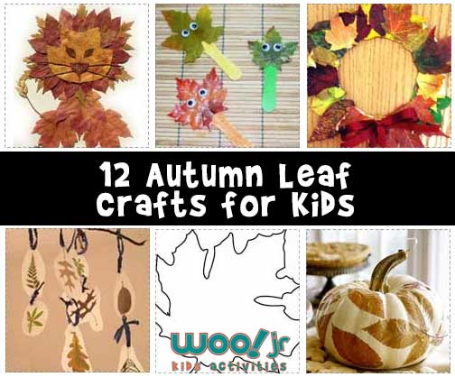 12 Autumn Leaf Crafts For Kids