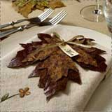 Make Leaf Placecards