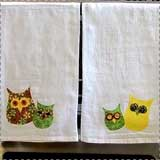 No-Sew Owl Towels