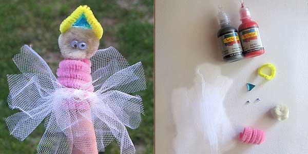 Halloween Princess Finger Puppet