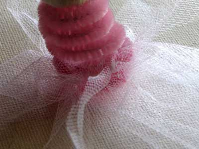 Princess Finger Puppet Skirt