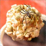 Pumpkin Seed Popcorn Ball Treats