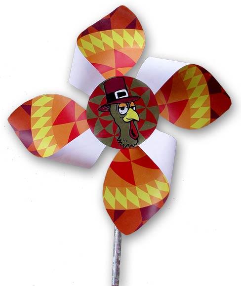 Thanksgiving Pinwheel Paper Craft