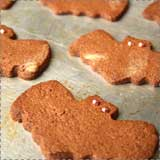 Whole Wheat Bat Cookies Recipe