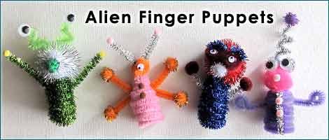 Alien Pipe Cleaner Crafts L Woo Jr Kids Activities