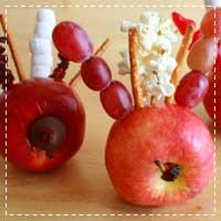 Easy Thanksgiving Fruit Gobblers