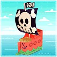 Milk Carton Pirate Ship
