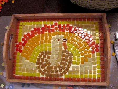 Allow Your Mosaic to Dry for 24 Hours