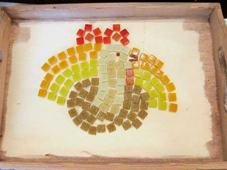 Plan Your Thanksgiving Mosaic Pattern