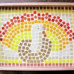 Thanksgiving Mosaic Platter Project