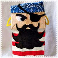 Paper Bag Pirate Craft
