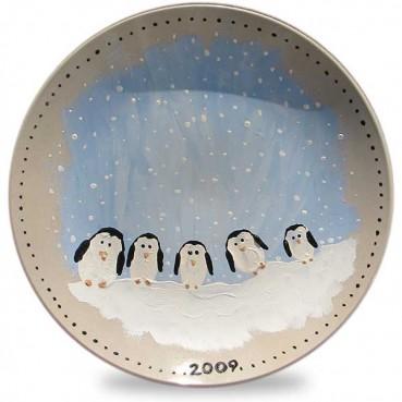 Christmas Keepsake Family Plate Craft