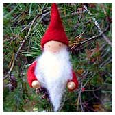 Pinecone Gnome Ornament