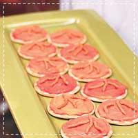 Easy Turkey Tracks Cheese Crackers
