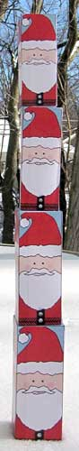 Nesting Santa Doll Tower