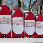 Christmas Paper Crafts: Nesting Santa Dolls