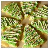 Sugar Christmas Tree Cookies
