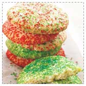 Crisp Sugar Drop Cookies