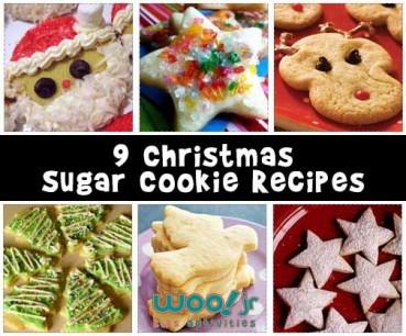 10 Christmas Sugar Cookie Recipes