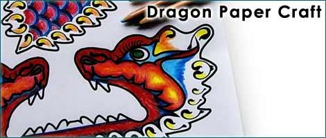 Printable Dragon Craft