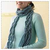 Easy No Knit Scarf