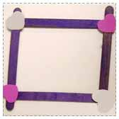 Make a Heart Photo Frame