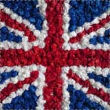Union Jack Tissue Paper Flag Craft
