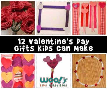Valentine Gifts Kids Can Make