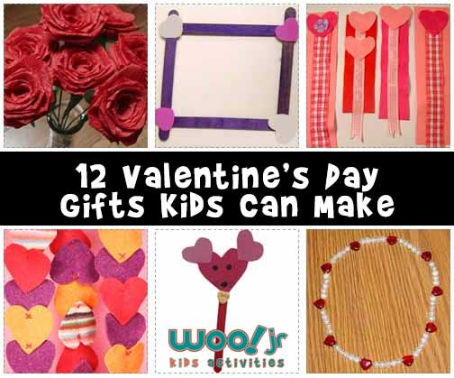 Valentine Gifts Kids Can Make Woo Jr Kids Activities
