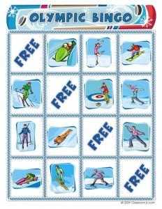Free Winter Olympics Bingo Game Woo Jr Kids Activities