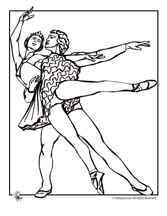 dance games and coloring pages - photo#27
