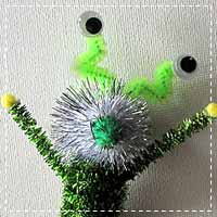 Pipe Cleaner Aliens