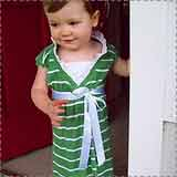 Recycled T-Shirt Toddler Dress