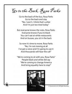 Rosa Parks Kids Poem