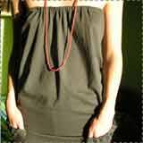 Strapless TShirt Tunic