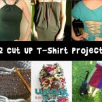 Recycled Crafts: T-Shirt Surgery