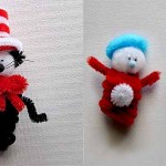 Dr. Seuss Cat in the Hat Craft