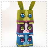 Paper Easter Totem Pole