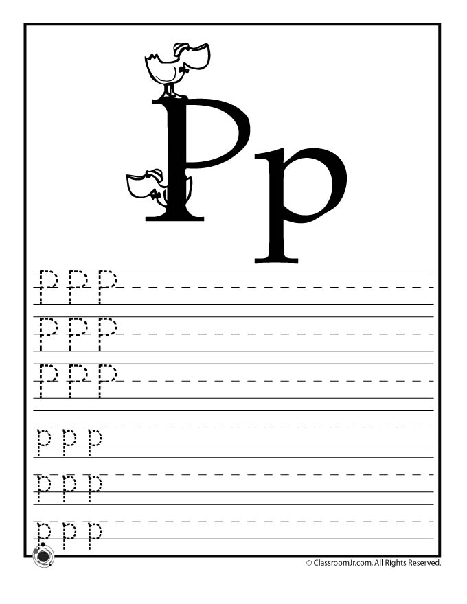 Learn Letter P