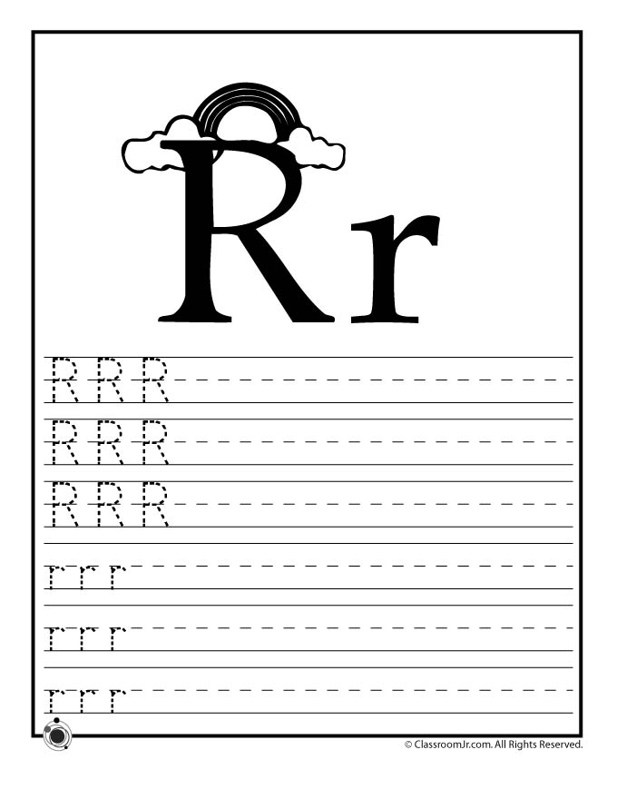Learn Letter R - Woo! Jr. Kids Activities