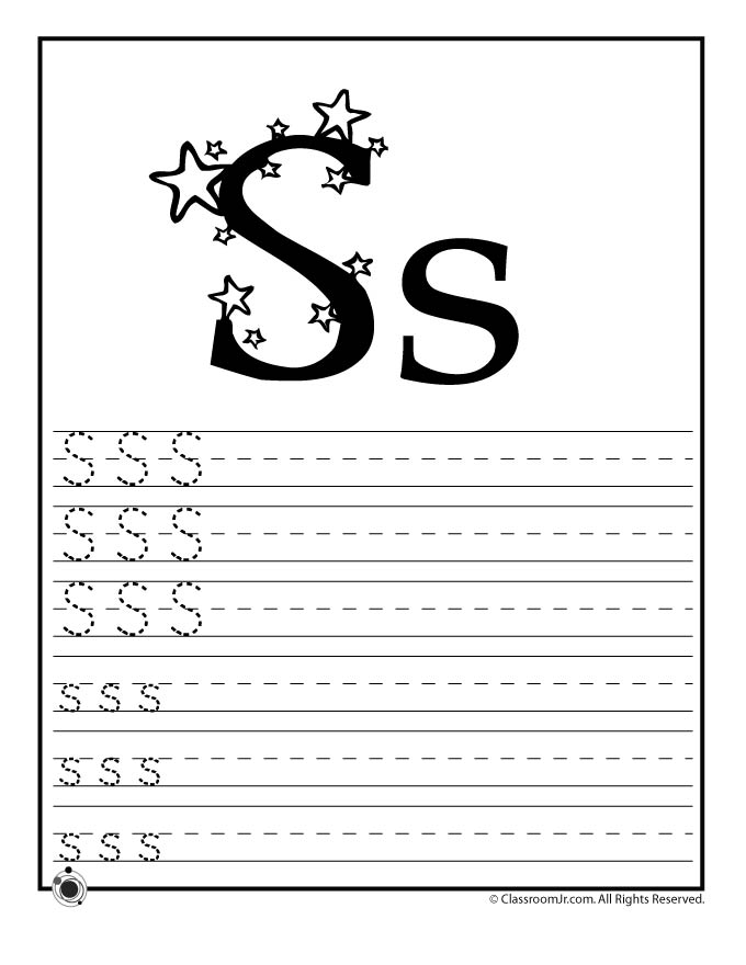 Learn Letter S - Woo! Jr. Kids Activities