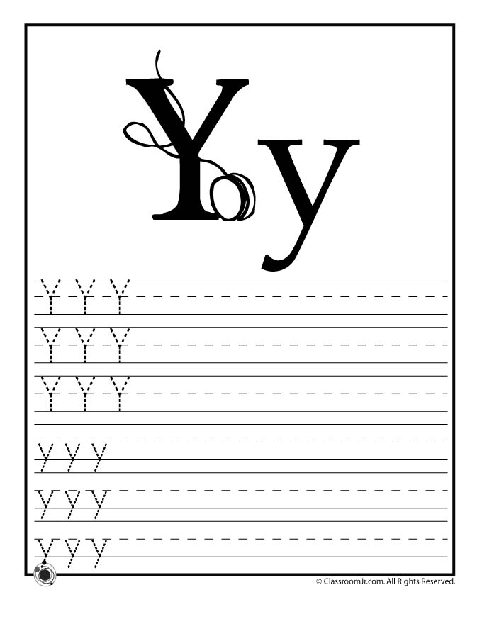Letter Y Activity.Learn Letter Y Woo Jr Kids Activities