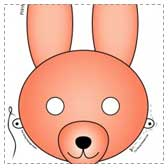 Printable Bunny Masks