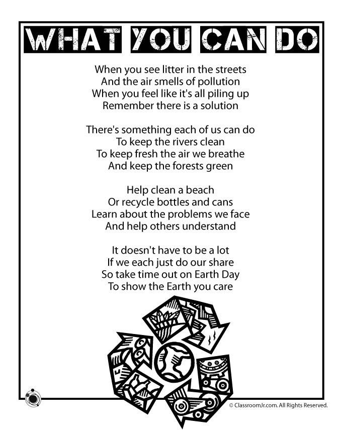 Earth Day Kids Poem