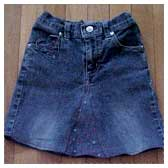 How to Turn Old Jeans Into a Mini Skirt